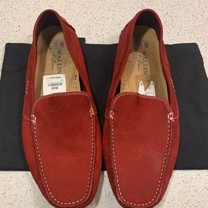 Wallin and bros suede bit loafer size 13